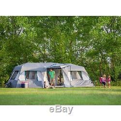 Grande Famille Instantanée De Tente De Pièce De Fente De 15 Personnes Campant En Plein Air La Traînée Ozark De Sarcelle