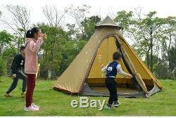 Grande Famille Marquises Tentes Étanche Outdoor Group Abri Yourte Design Canopy