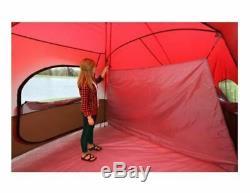 Grande Famille Tente 10 Personnes Camping Familial Pêche En Plein Air Toute La Saison 3 Chambre
