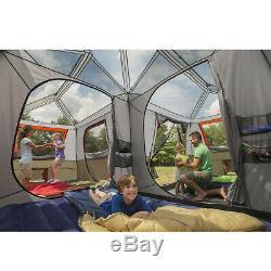 Grande Famille Tente 12 Personnes Camping En Plein Air Ozark Trail 3 Salle 16x16