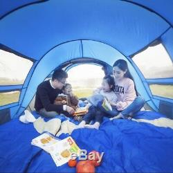 Grande Tente 4 Personnes Automatique Auto De Plein Air Tente De Mise En Place Mis En Place Camping Imperméable Vert