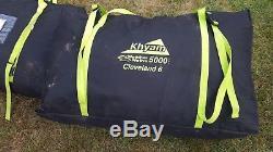 Grande Tente 6 Couchettes Khyam Cleveland. Cette Tente N'a Été Utilisée Que Quelques Week-ends