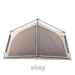 Grande Tente Camping Extérieur Famille 2 Pièces Cabine Écran 14 Personnes Abri Arrière-cour