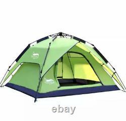 Grande Tente Camping Extérieur Une Chambre 4-5 Ou 3-4 Personne Sortie Familiale Imperméable À L'eau