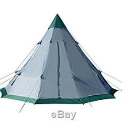 Grande Tente De Camping 6 Personne Famille Tepee Extérieur Abri Randonnée Pédestre Équipement Équipement
