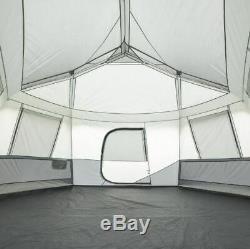 Grande Tente De Camping Cabine Pour 11 Personnes Cabine De Couchage Rangement Randonnée Campement Saison De Randonnée