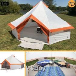 Grande Tente De Camping De Carlingue Instantanée Pour Le Camp Extérieur Augmentant Le Large Et Large Abri De Voyages