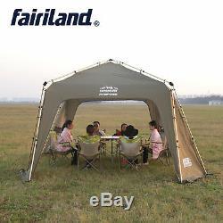 Grande Tente De Camping En Plein Air De Luxe Pour Le Royaume-uni 12 Pers