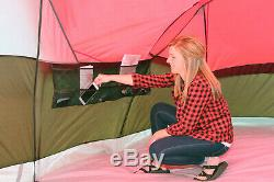 Grande Tente De Camping Extérieur Ozark Trail 3 Chambre 10 Personne Imperméable Facile À Installer