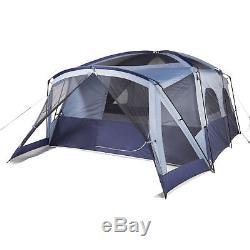 Grande Tente De Camping Familiale 12 Personnes Randonnée En Plein Air Chasse Abri Mur Droit