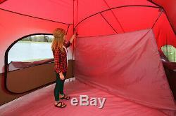 Grande Tente De Camping Pour 10 Personnes, Sentier Ozark Extérieur, 3 Chambres, Groupe Familial Étanche