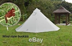 Grande Tente De Camping Ultraléger Étanche Pour La Famille Ou 4 Personne Extérieure Randonnée Pédestre