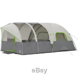 Grande Tente Dormir Famille Dome Tunnel Camping Chalet Tentes Airflow Panneau Abri