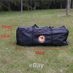 Grande Tente Extérieure Tente De Camping Familiale Double Couche Étanche 8-12 Personnes