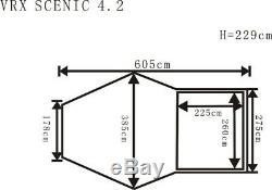 Grande Tente Extérieure Tente Pour 4-6 Hommes Revolution Utilisée Seulement Deux Fois