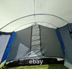Grande Tente Familiale 8 Homme Pro Action Tunnel Tente, 3 Chambres, Pick-up De Bd19