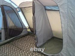 Grande Tente Familiale Beyond By Gelert, Corvus 6+2 Avec Porche Et Tapis