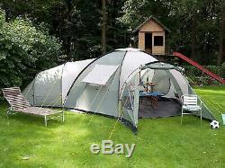 Grande Tente Familiale Camping En Plein Air 10 Personnes Randonnée Pédestre Spacieux Grand Camp 3 Chambres