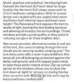 Grande Tente Familiale De 7 Personnes Outwell Vermont