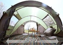 Grande Tente Familiale Familiale 5-6 Personnes, Camping, Lancer Deuxième Tente Ouverte