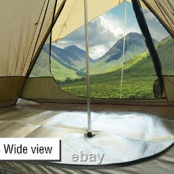 Grande Tente Familiale Légère Imperméable À L'eau Indian Style Pyramid Tipi Tentes Cover 1