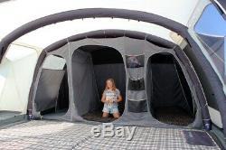 Grande Tente Familiale! Révolution De L'ozone Viroa 6/8 Homme Tente D'air! Utilisé Qu'une Seule Fois