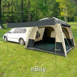 Grande Tente Imperméable De Véhicule De Suv De Véhicule De Tentes De Camping De Kingcamp 5 Personnes Extérieure