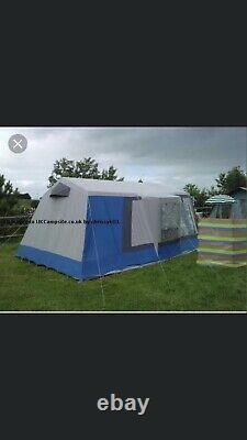 Grande Tente, Remorque Et Équipement En Toile De 6 Couchettes