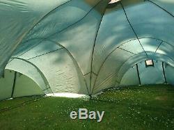 Grande Tente Toundra Pour 9 Personnes, 3 Chambres, Excellent État