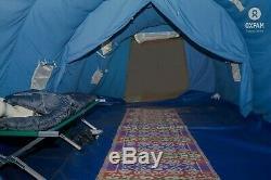 Grande Tente Tunnel, Abri, Pour Les Fêtes, Des Événements, Camping, 4-8 Personnes, Heavy Duty