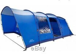 Grande Tente Vango Anteus 600 (bleue) 6berth, Idéale Pour Les Familles Ou Les Grands Groupes Sociaux