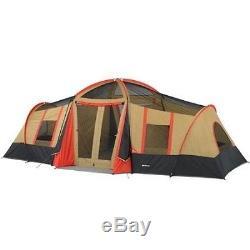 Grandes Tentes Pour Camping 10 Personnes Trois Chambres Famille Extérieur Grand Abri Couvert