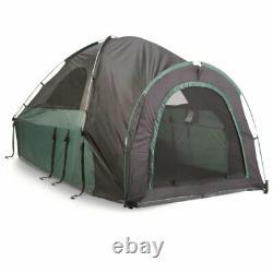 Guide Équipement Ettr-05 Full Size 2 Personne Entièrement Enfermé Tente Camping Abri
