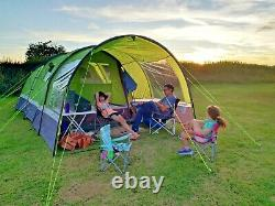 High Gear Enigma 5 Couchettes Large Family Tent Bundle Excellent Condition Utilisée