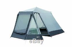 High Peak Colorado 180 Tente 4 Personne, Gris Argent / Bleu Nuit
