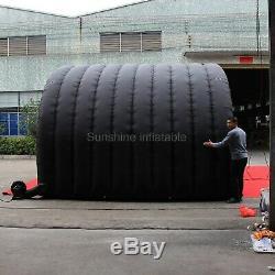 Hot Vente À Bas Prix Tente Étanche Tunnel Gonflable Noir Petit Gonflable Etape