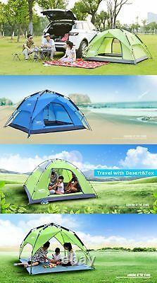 Imperméable À L'eau Tente Extérieure Camping Canopy Shelter Ouverture Automatique Respirant Nouveau