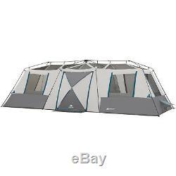 Instant 3 Chambres Camping Tentes Cabine Grande Famille Grand 15person Rapide Pas Extérieur