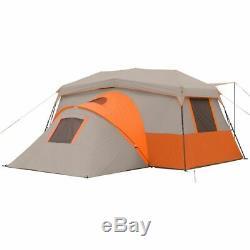 Instant Pop Up Camping Tente Famille Cabine Randonnée Pédestre Abri 11 Personne Trail