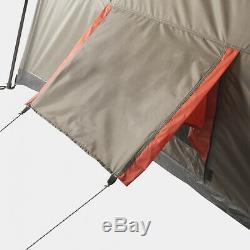 Instantané 3 Pièces 12 Personne Chalet Tente Étanche Abri Camping Famille En Plein Air