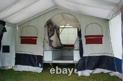 Jamet Louisiane Remorque 6 Berth Tente/cuisine Portable/grande Boîte De Rangement Verrouillable