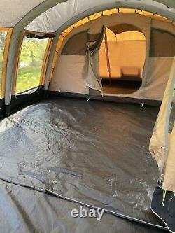 Kampa Croyde 6 Classic Air Polycotton Tente- Utilisé Seulement Deux Fois