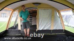 Kampa Croyde 6 Tente Aérienne Polycotton Classique 2017 Utilisée Mais En Excellent État