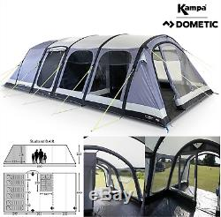 Kampa Dometic Studland 8 Air 8 Personne Famille Homme Tente Gonflable 2020 Ct3334