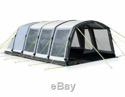 Kampa Hayling 6 Soufflage Pro Tente À Tunnel Gonflable Grand Utilisé Une Fois £ 839 Nouveau