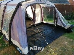 Kampa Hayling Air 6 + Tente + Cuisine + Auvent + Accessoires Tapis De Sol
