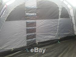 Kampa Studland 8 Air Couchette Grande Tente Gonflable De Tente Familiale En Très Bon État
