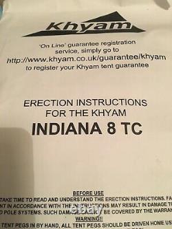 Khyam Indiana 8 Tc Tente En Toile