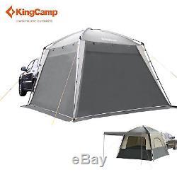 Kingcamp 5 Personne Véhicule Suv Voiture Imperméable Grande Tente De Camping En Plein Air Kt3083