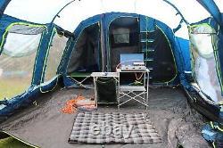 La Tente De Naissance De La Famille 6 Comprend Un Poêle À Gaz, Une Literie De Camp Et Des Câbles Électriques (d'origine)
